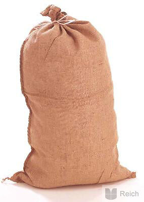2 Jute Sack Sacks Potato Sack Bag jute 50 kg, 61 X 104 cm NEW