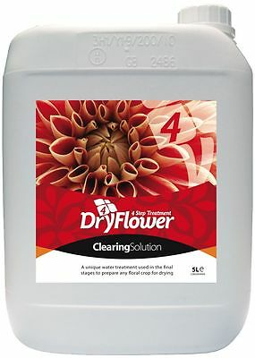 Dry Flower 4  Clearing Solution 5 l
