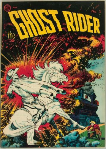 The Ghost Rider #3 Photocopy Comic Book, Frank Frazetta Cover