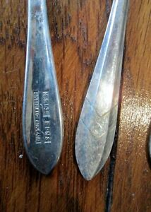 Loxley 1935 E.P.N.S. Sheffield England Pastry Forks Kitchener / Waterloo Kitchener Area image 3