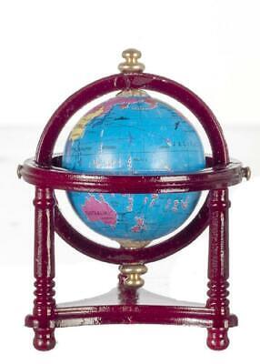 Usado, Casa de Muñecas World Globe en Caoba Soporte Miniatura Escuela Estudio Accesorio segunda mano  Embacar hacia Argentina