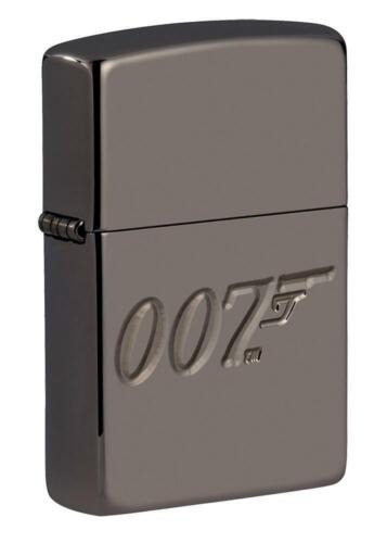 Zippo Windproof Armor Deep Carved Lighter, 007 James Bond, 49283, New In Box
