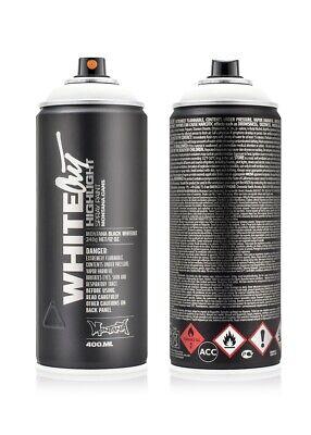 Montana Graffiti Sprühdose Black 400ml - BLK 9150 - Whiteout - Neu & OVP