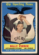 Topps 1959 Billy Pierce #572