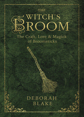 THE WITCH'S BROOM Craft, Lore & Magick of Broomsticks Witch Wicca Wiccan Book