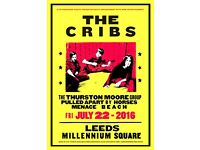 The cribs millennium square homecoming gig 22/7/16