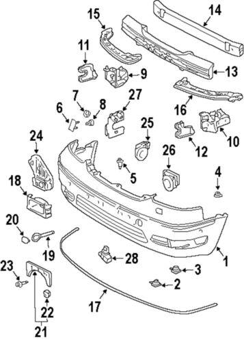 Oem Parts: Lexus Oem Parts Diagram