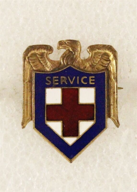 Red Cross: General Service Badge - Malvina Hoffman pin, c.WWII