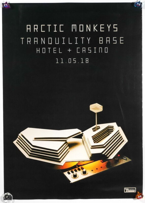 Arctic Monkeys Tranquility Base Hotel + Casino Taiwan Promo Poster 2018