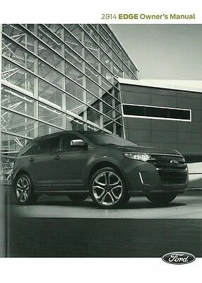 2014 Ford Edge Truck Owners Manual User Guide (User Edge)