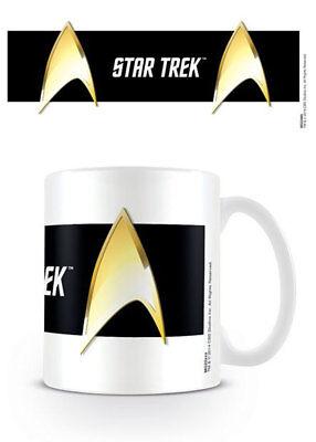 Star Trek - Insignia Black - Keramik Tasse - Größe Ø8,5 H9,5cm