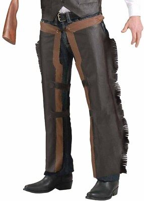 Cowboy Chaps - Adult Wild West Costume Accessory