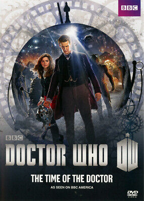 DOCTOR WHO - THE TIME OF THE DOCTOR 2013 DVD - MATT SMITH