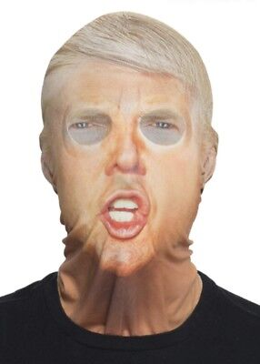 Faux Real Adult Donald Trump President Halloween Mask Costume Political Politics