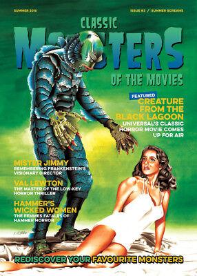 Classic Monsters Magazine Issue 3: Horror Film and Horror Movie Magazine
