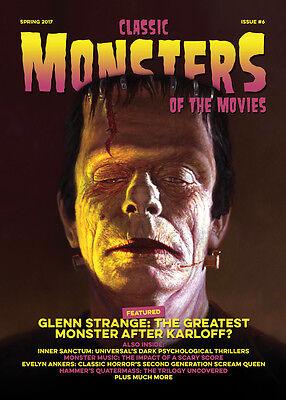 Classic Monsters Magazine Issue 6: Horror Film and Horror Movie Magazine