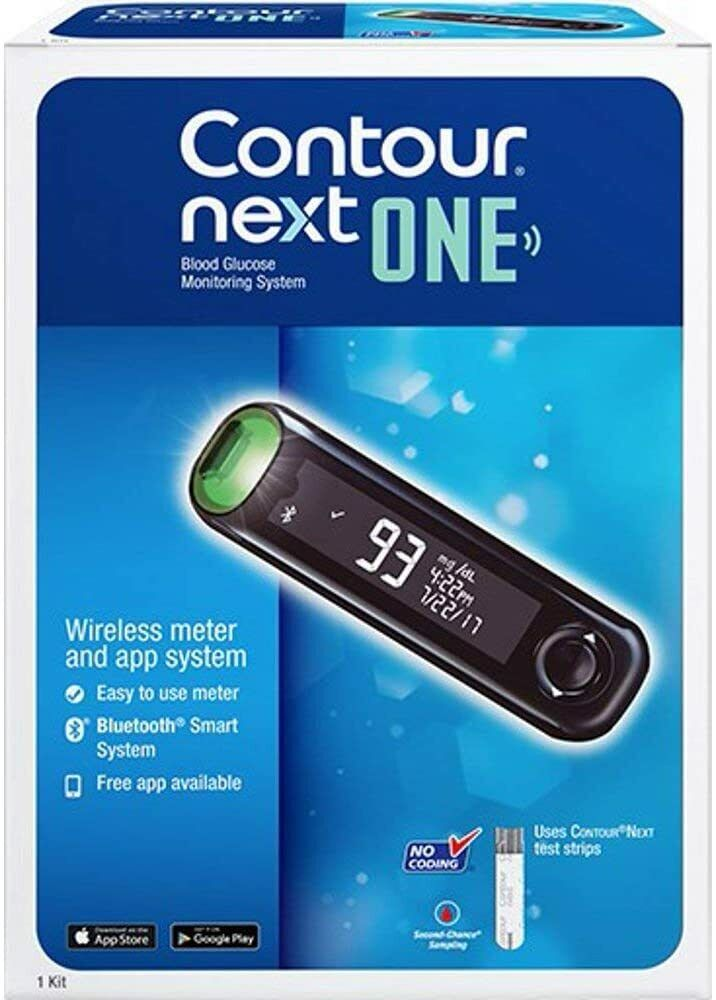 Contour Next ONE Glucose Monitoring System Wireless Meter In