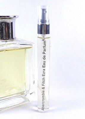 Abercrombie & Fitch EZRA Eau de Parfum 10ml Travel Atomizer Spray EDP .33oz RARE