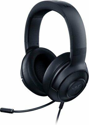 Razer Kraken X Wired Stereo Gaming Headset for PC, PS4, Xbox One, Nintendo-Black