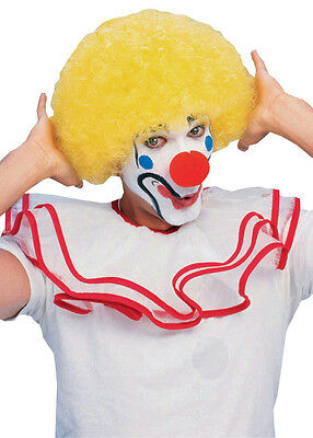 Yellow Clown Wig (Yellow Afro Curly Clown Wig)