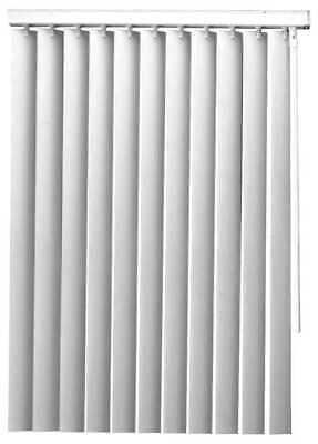 """Designer's Touch 3.5"""" Slat PVC Vertical Blinds 47"""" W x 48"""" L"""