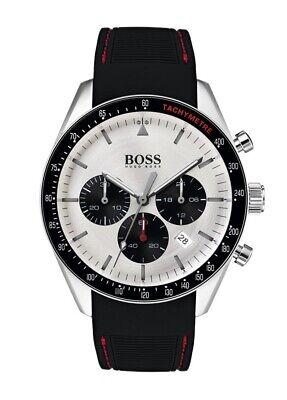 NEW Hugo Boss Trophy - Mens Chronograph Black Watch -  1513627