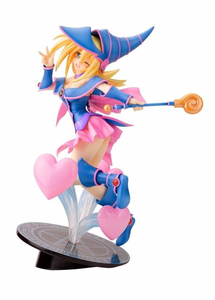 KOTOBUKIYA Yu-Gi-Oh! DARK MAGICIAN GIRL THE MOVIE 1/7 PVC Figrue NEW from Japan