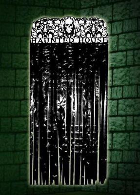 Halloween Door Curtain Party Entrance Door Metallic Curtain Halloween - Halloween Entrance Decorations