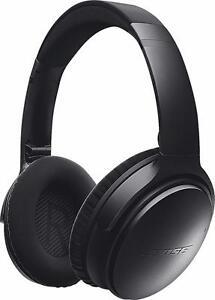 Casque D'écoute Bluetooth QuietComfort QC35 Bose - Noir - Bose QuietComfort QC35 Over-Ear Noise Cancelling Wireless Head