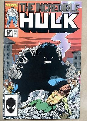 Incredible Hulk #333-1987 nm- Best Hulk story ever? Todd