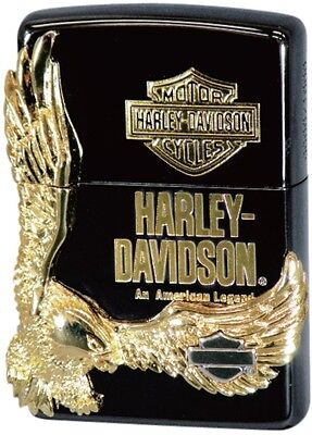 Zippo Lighter Harley Davidson Japan LTD Edition Model Black HDP-14 Best Buy