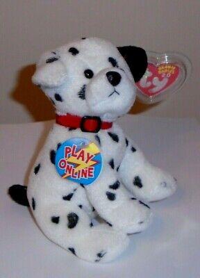 Ty 2.0 Beanie Baby ~ HYDRANT the Dalmatian Dog (6 Inch) MWMT