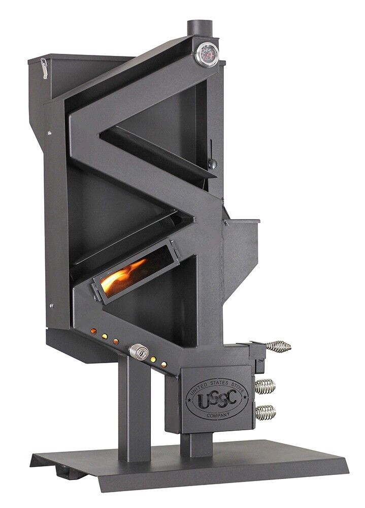 Wiseway PELLET STOVE Non-Electric Gravity Feed GW1949 Off Gr