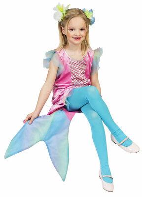 a Kostüm für Mädchen Mermaid Karneval Mottoparty Geburtstag (Karneval Geburtstag)