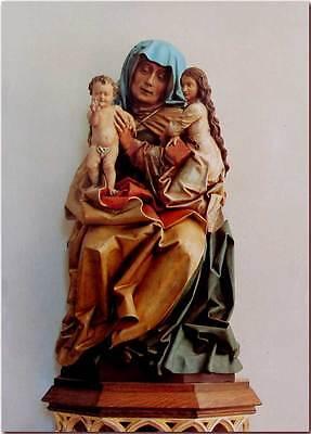 """""""Anna Selbdritt"""" - plastisches Andachtsbild Heiligenbild Motivbild Bildtafel"""