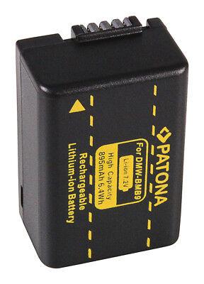 Akku für Panasonic Lumix DC-FZ82 BMB9 DMW-BMB9E