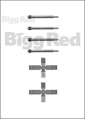 Rear Brake Caliper Pad Fitting Kit for Volvo C70, S70 & V70  (H0980)
