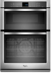 Whirlpool Gold WOC95EC0AS Combination Microwave Wall Oven with True Convection