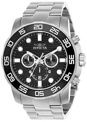 Invicta Pro Diver 22226 Men's Black Round Chronograph Date Analog Watch