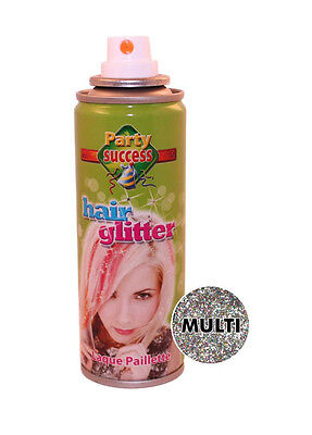 Eulenspiegel Glitzer-Effekt Haarspray multicolor 125 ml