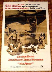 Movie Poster: Will Penny 1968 Charlton Heston