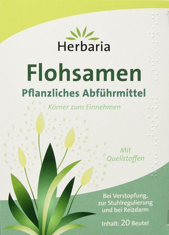 Herbaria Flohsamen Pflanzliches Abführmittel