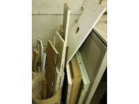 Garage Clearance Free Wood, Old Kitchen Carcasses/ Plasterboard