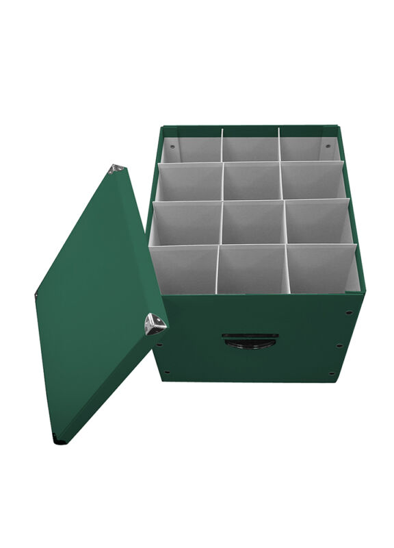 Byers Choice Caroler Condo Storage Box Holds up to 12 ADULTS w/Handles & Lid NEW