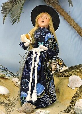 2016 Byers Choice Nautical Seabrina Sand Witch Exclusive Caroler Signed J Byers
