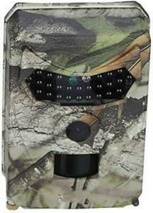 CAMOUFLAGE TRAIL CAMERA -- AUTOMATIC RECORDING OF ANIMALS AND OTHER SUSPICIOUS CREATURES DAY AND NIGHT !!