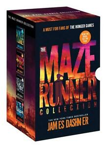 The Maze Runner Collection by James Dashner - 4 Book Box Set