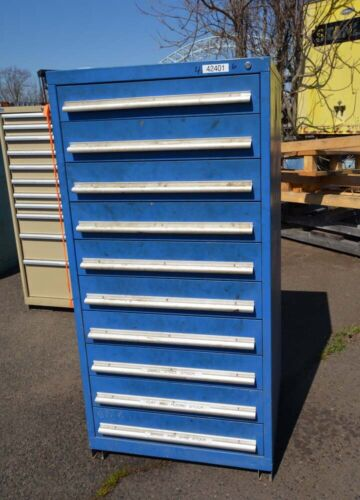 Vidmar 10 Drawer Cabinet (Inv.42401)