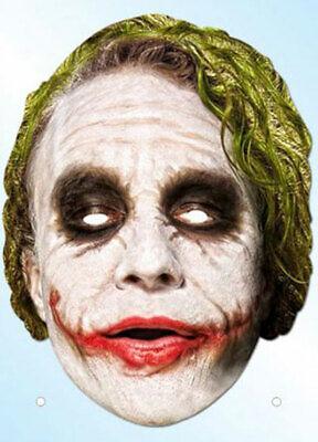 Batman Dark Knight - Joker Maske aus hochwertigem - Dark Knight Joker Masken