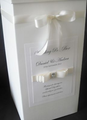 Personalised Wedding Card Post Box, Anniversaries and Special Occasions